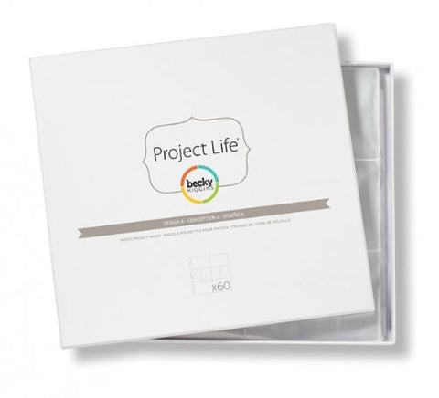 Project Life 12x12 Big Pack of Design A
