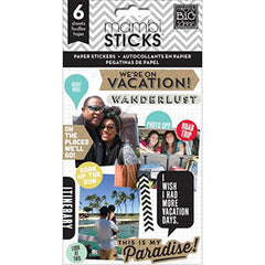 MAMBI Stickers Paper Stickers Vacation