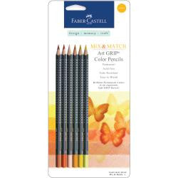 Mix and Match Colored Pencils Yellow