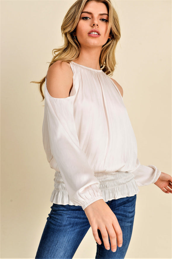 Shoulder Peak Blouse