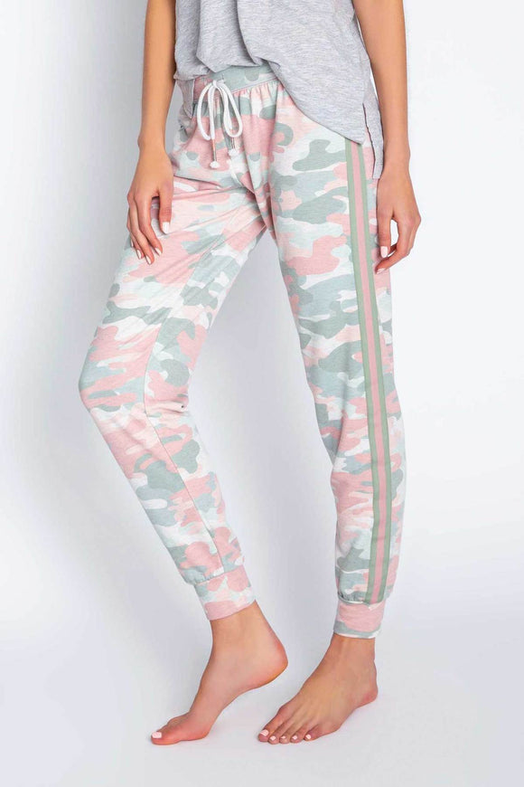 Camo In Color Branded Pant
