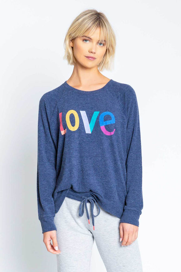 Iconic Lounge Long Sleeve Top