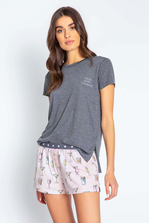 Playful Prints Short Sleeve Tee