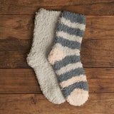 Fur Foam Plush Socks (2 Pack)