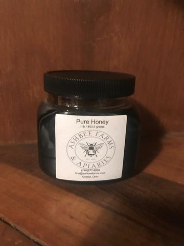 1lb. Fall Honey