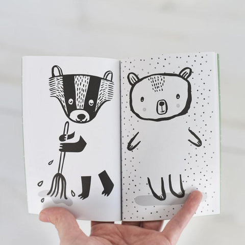 Wee Gallery Activity Book - 32 Ways To Dress Nordic Animals