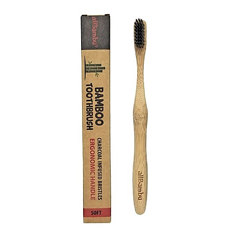 Natural AllBambu Toothbrush