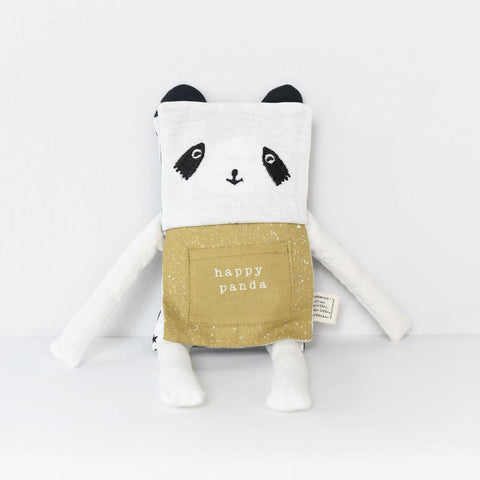 Wee Gallery Organic Flippy Friend - Panda