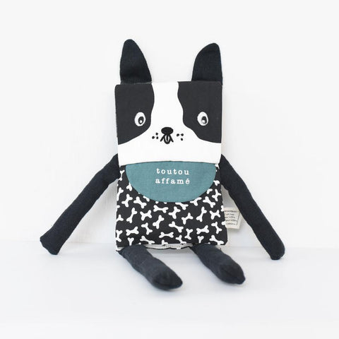 Wee Gallery Organic Flippy Friend - Dog (French Edition)