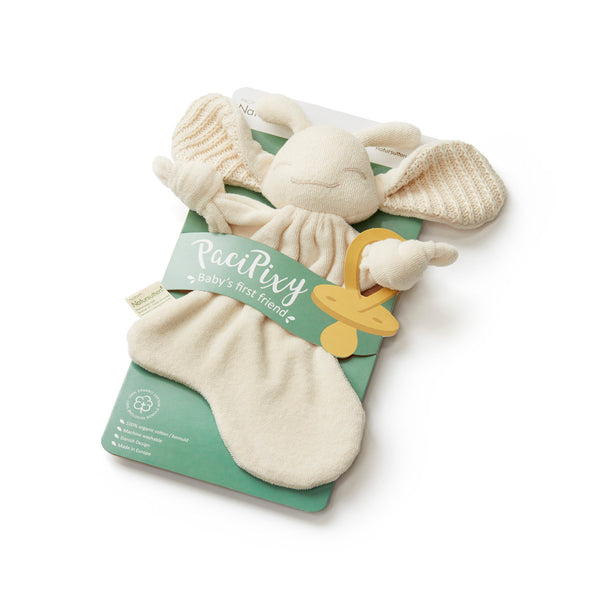 Natursutten Paci Pixy Organic Soother Holder/Comfort Toy