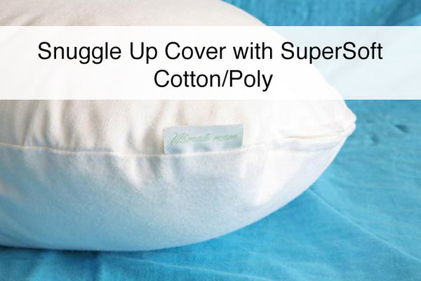 "Ultimate Mum SuperSoft Cotton/Poly Woven Pillow Cover for ""The Snuggle Up Pillow"""