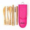 AllBambu Kid's Bamboo Cutlery Set