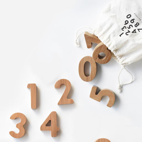 Wee Gallery Bamboo Numbers Set