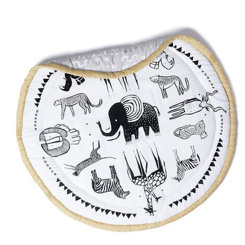 Wee Gallery Organic Play Mat - Safari