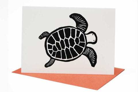 Wee Gallery Turtle Greeting Card with Envelope
