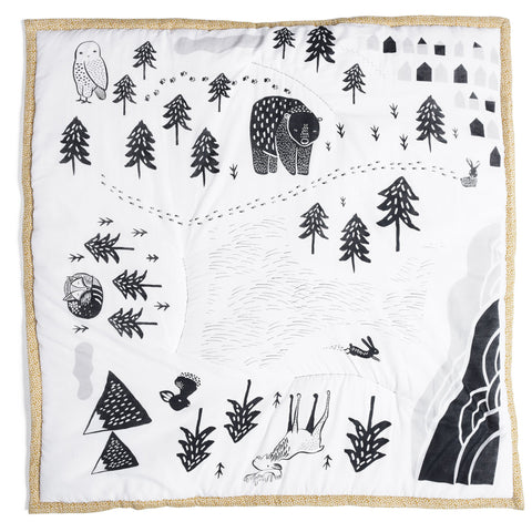 Wee Gallery Organic Play Mat - Explore