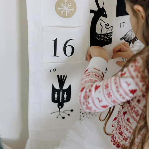 Wee Gallery Festive Friends Advent Calendar