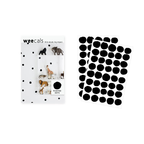 Wee Gallery Weecals - Black Dots