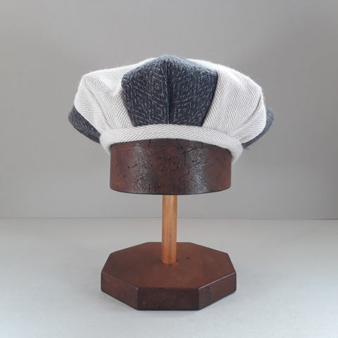 Pieced tweed hat #1