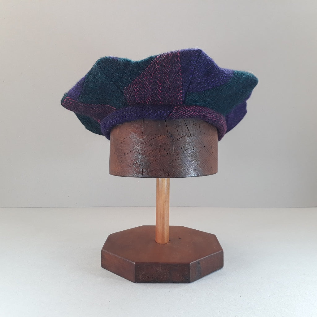 Copy of Pieced tweed hat #2
