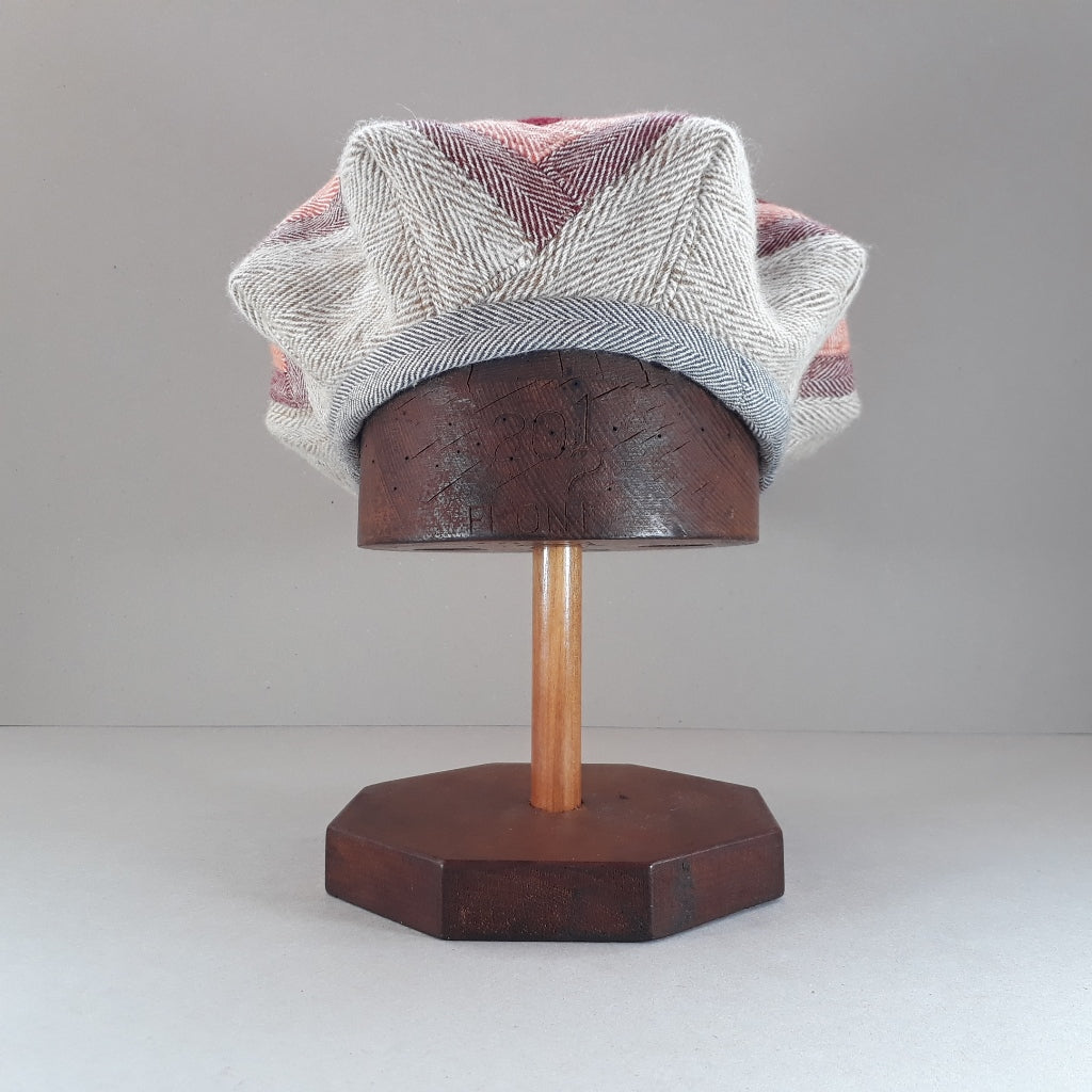 Pieced tweed hat #3