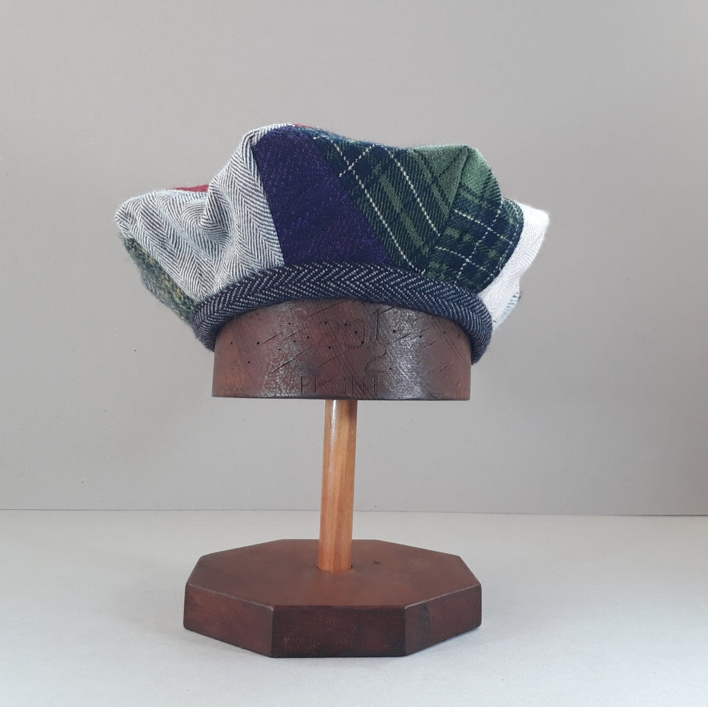Pieced tweed hat #4