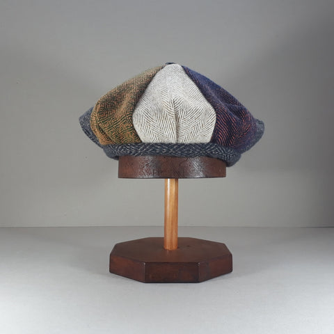 Pieced tweed hat #5