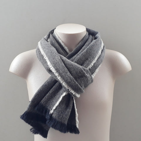 Witham merino, possum and silk scarves