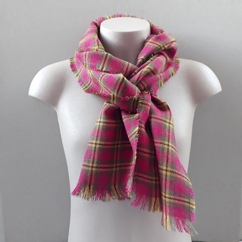 Meon Plaid Scarf