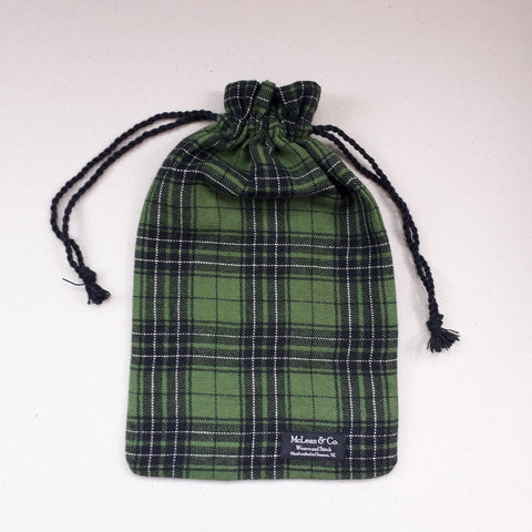 McLean tartan hot water bottle covers
