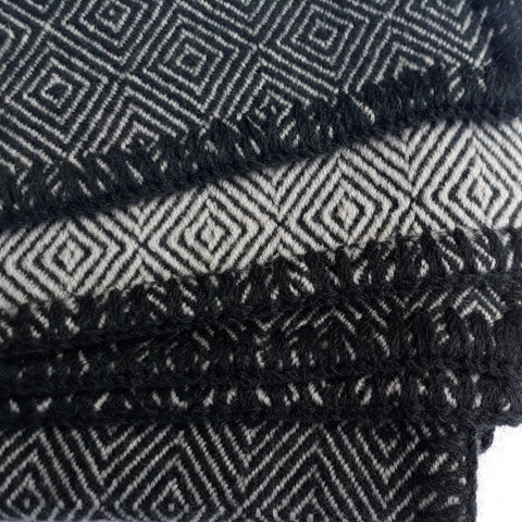 Dark Green Baby Blanket