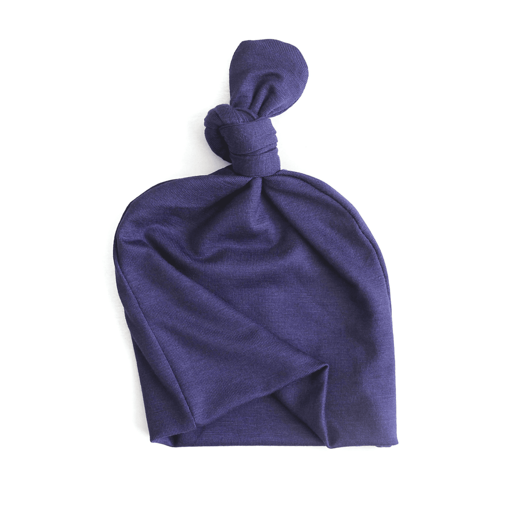 navy blue topknot baby hat, topknot baby hat, navy baby hat, baby boy topknot hat, going home hat
