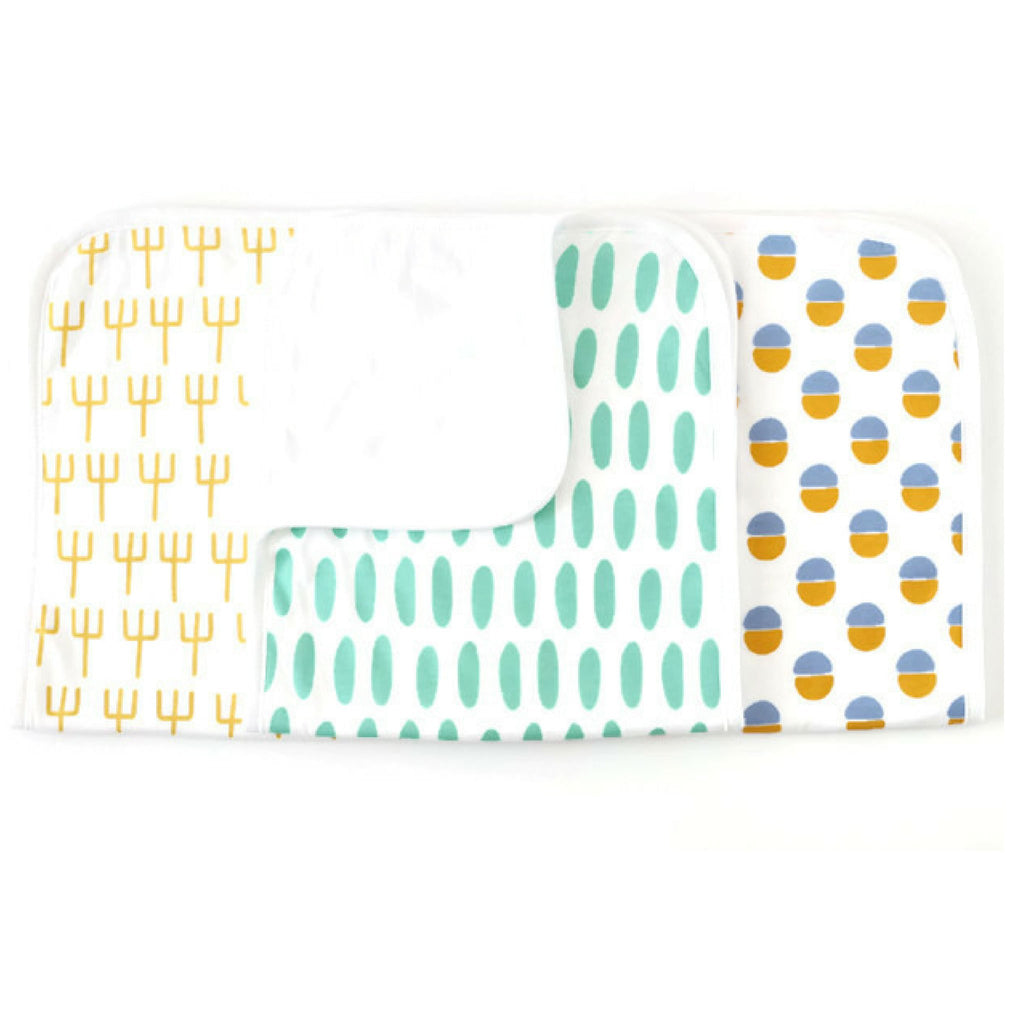 cactus burp cloth for boys
