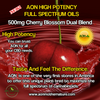 NEW AON High Potency Oils - 500mg Cherry Blossom Dual Blend  30ml