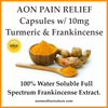AON 10mg(20 capsules.  200mg) Sweet Relief Capsules with Turmeric and Frankincense