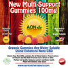 AON - New Multi-Support Gummies- 100mg