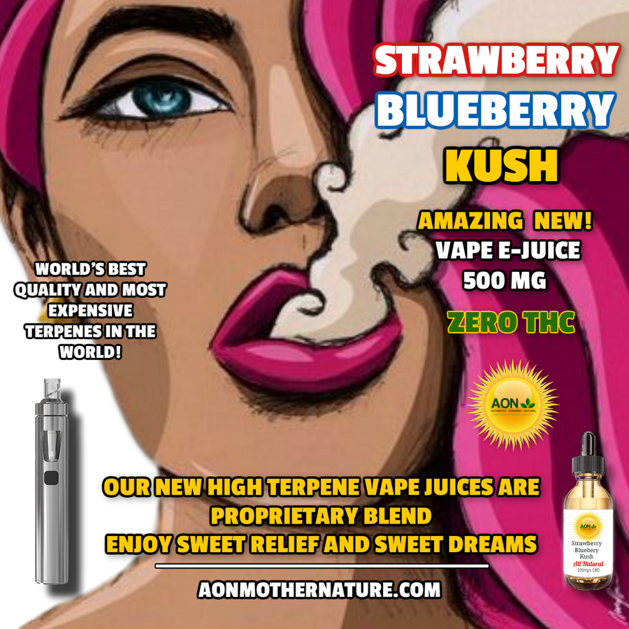 AON - 500mg High Terpene EV Juice ( click drop-down menu for other flavors)