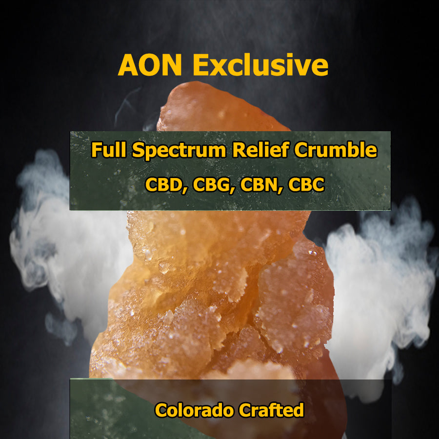 AON - Full Spectrum Crumble - 500mg each