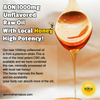 AON 1000MG Unflavored Raw Oil  with Local Honey- High Potency