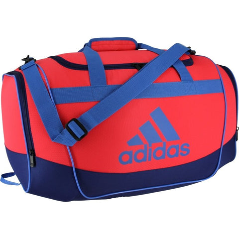 Adidas Defender II Small Duffel Bag - Red/Blue