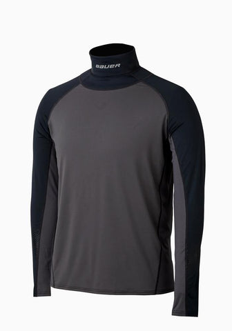 Bauer Long Sleeve Neckprotect - Junior