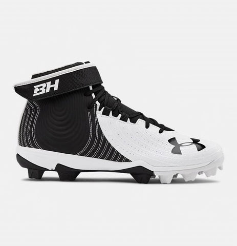 Under Armour Harper 4 Mid RM Baseball Cleat- Junior
