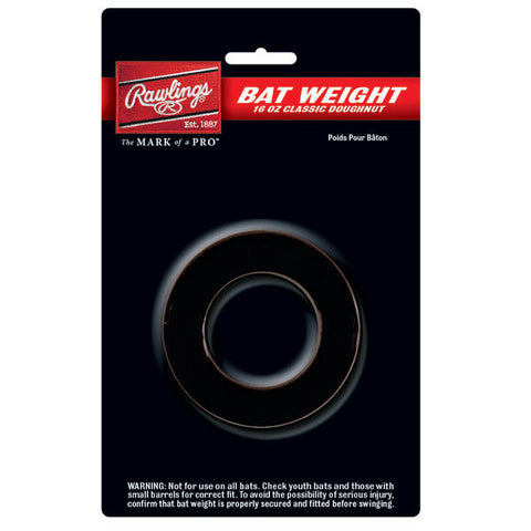 Rawlings 16 Oz. Doughnut Style Bat Weight