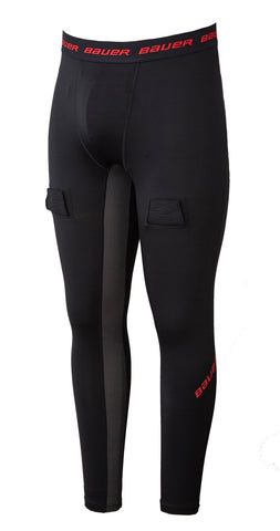 Bauer Essential Compression Jock Pant- Youth (2019)