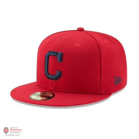 New Era 59Fifty Fitted Hat- Cleveland Indians