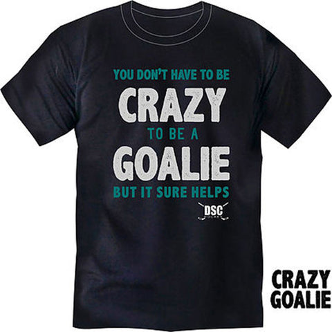 DSC Hockey T Shirt - Crazy Goalie
