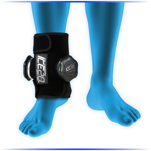 NEW Ice20 Double Ankle Ice Compression Wrap