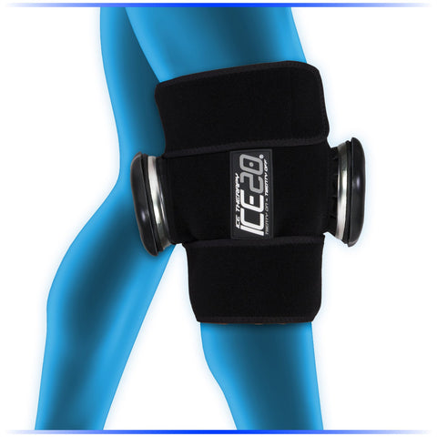 NEW Ice20 Double Knee Ice Compression Wrap