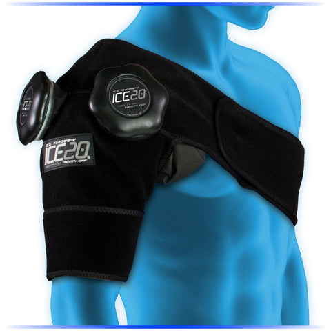 NEW Ice20 Double Shoulder Ice Compression Wrap