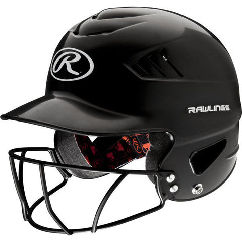Rawlings CoolFlo Batting Helmet Facemask Combo